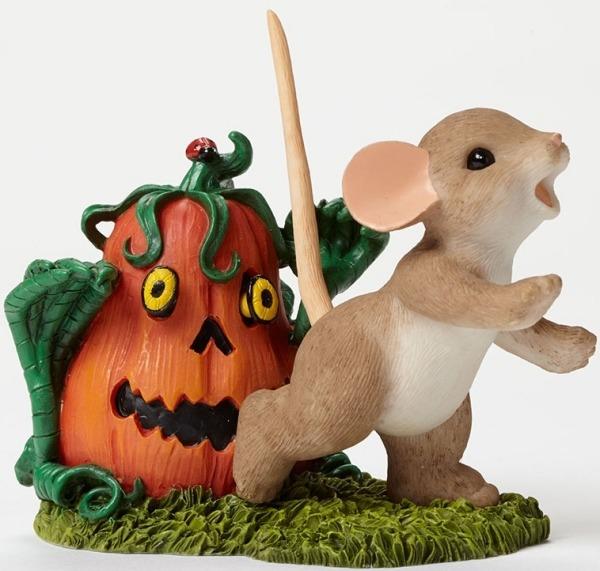 Charming Tails 4046779 Pumpkin Zombie