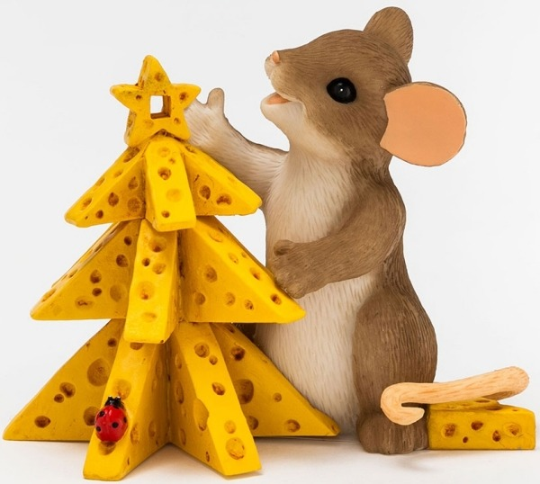 Charming Tails 4046947 Oh Christmas Cheese