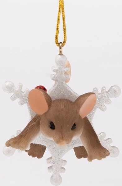 Charming Tails 4046955 Snow Much Fun Ornament
