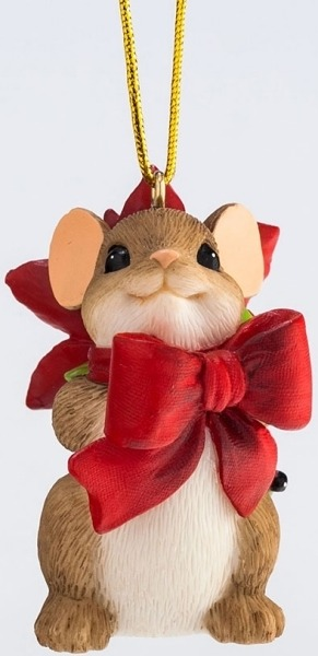 Charming Tails 4046958 Pretty Gift You Ornament