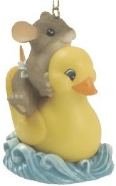 Charming Tails 86137 Rubber Ducky Fun - Limited & Dated