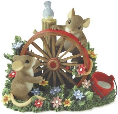 Charming Tails 88137 Wheel Always Be Friends