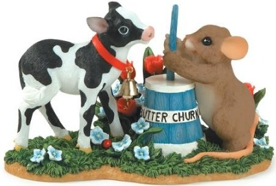 Charming Tails 89195 I'm Butter Because of You Ltd Ed