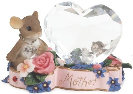 Charming Tails 89232 A Mothers Love is Crystal Clear