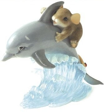 Charming Tails 89266 You Give My Life Porpoise
