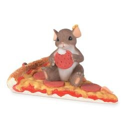 Charming Tails 89332 Youre A Real Pizza Work