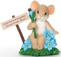 Charming Tails 12500 Forget Me Not Figurine
