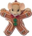 Charming Tails 130445 Mouse Gingerbread Cookie