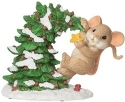 Charming Tails 134201 Mouse and Christmas Tree Figurine
