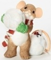 Charming Tails 30396 Mouse Snowbll Fig-Did Some