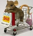 Charming Tails 4017345 When It Comes To Shopping Im Ready To Roll Figurine