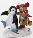 Charming Tails 4023665 Making Tracks to Christmas Figurine