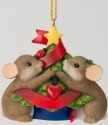 Charming Tails 4027666 Our Love Decorates the Season Ornament