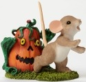 Charming Tails 4046779 Pumpkin Zombie
