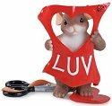 Charming Tails 84143 Cut Out For Luvin You Figurine