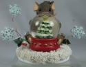 Charming Tails 87133 May All Your Christmases Be White Snow Globe