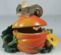 Charming Tails 93110 Pumpkin Harvest Hinged Box