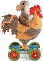 Charming Tails 98457 Rooster Pull Toy Charm