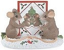 Charming Tails 98465 Seasons Greetings Figurine