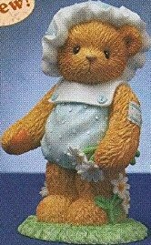 Cherished Teddies 112413 Thanks For Picking Me Daisies