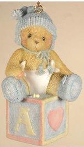 Cherished Teddies 118396 Babys 1st Christmas
