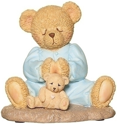 Cherished Teddies 12469N Boy Prayer Figure