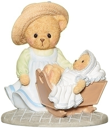 Cherished Teddies 12470 Mother And Baby Figure