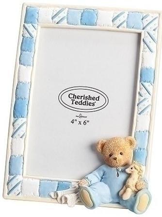 Cherished Teddies 12475N Boy Photo Frame 4X6