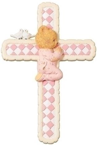 Cherished Teddies 12476 Girl Wall Cross