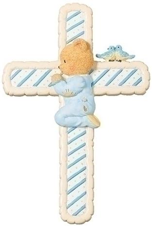 Cherished Teddies 12477N Boy Wall Cross