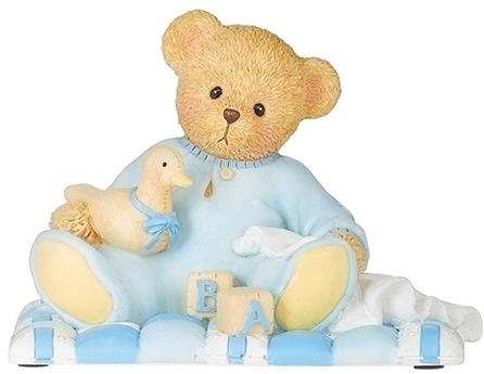 Cherished Teddies 12479 Baby Boy Figure - Sean