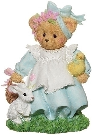 Cherished Teddies 12922 Easter Figurine Addie
