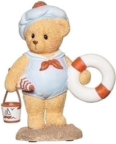 Cherished Teddies 12927N Beach Boy Figure - Teddy