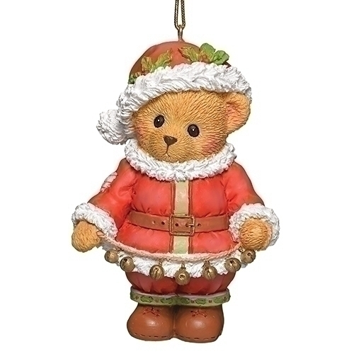 Cherished Teddies 132841 Santa Ornament Cherish Teddie