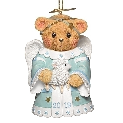 Cherished Teddies 132842 2019 Angel Ornament Annual Bell