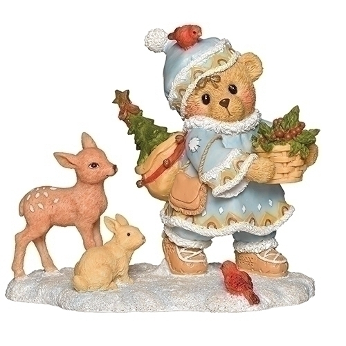 Cherished Teddies 132846 Inga Laplander Figurine