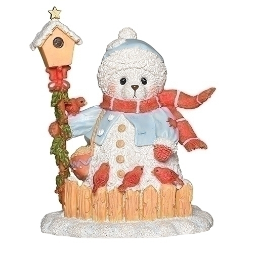 Cherished Teddies 132847N 2019 Ethel Snowbear Figurine