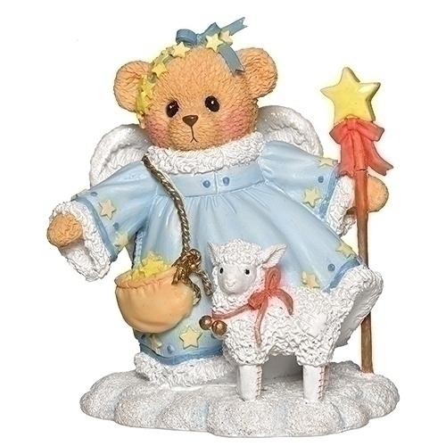 Cherished Teddies 132851 Stella Snow Angel Figurine