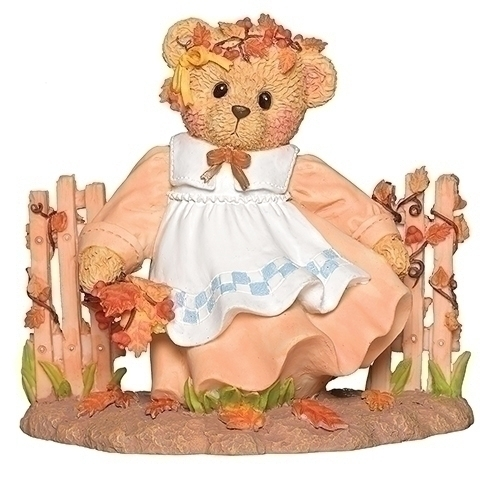 Cherished Teddies 132855 Sarah Thanksgiving Figurine