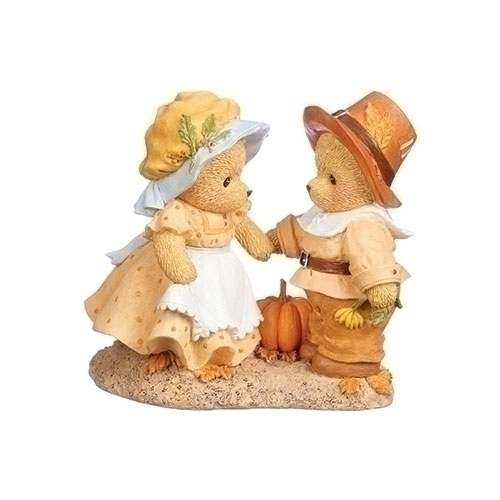 Cherished Teddies 132856 Thanksgiving Couple
