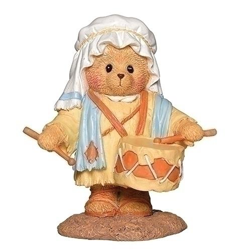 Cherished Teddies 132857 Drummer Boy Figurine Cherish