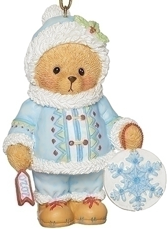 Cherished Teddies 133475N 2020 Blue Suit Ornament
