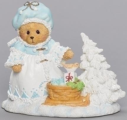 Cherished Teddies 133479 Ashley Bear With Basket