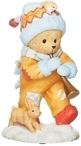 Cherished Teddies 133481 Georgie Bear With Horn