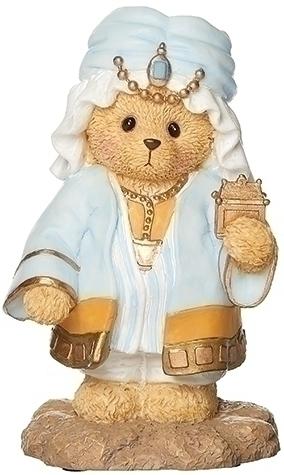 Cherished Teddies 133489 Bear King In Turban For