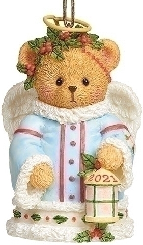 Cherished Teddies 134207N 2021 Annual Angel Bell Bear Dated 2021