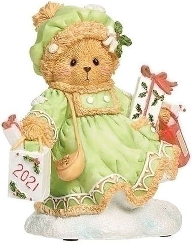 Cherished Teddies 134208 2021 Marie Annual Bear Dated 2021 Figurine