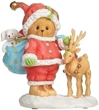 Cherished Teddies 134209N William Santa Bear Figurine