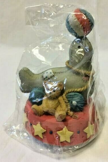 Cherished Teddies 137596 Seal Of Friendship Circus Seal