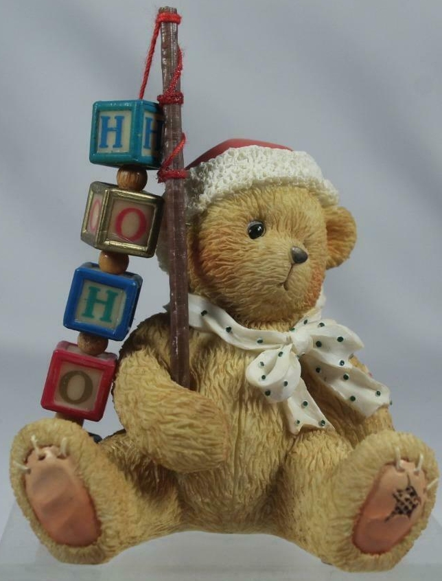 Cherished Teddies 176095 Catching The Holiday Spirit